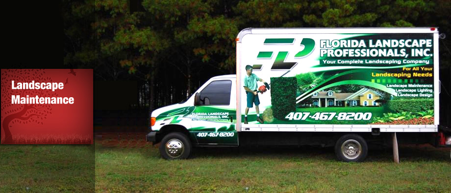 Florida Landscape Professionals 407 467 8200
